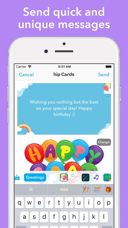 hip: Birthday Reminder App