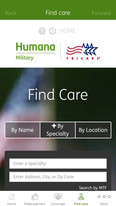 messages.download Humana Military software