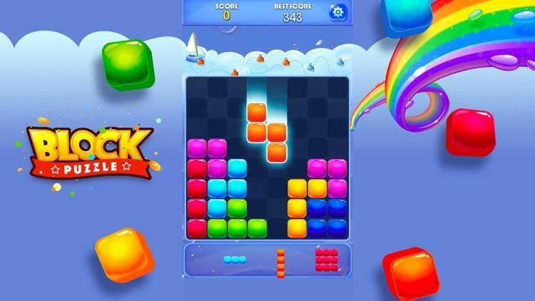 Candy Block Puzzle Blitz screenshot-4