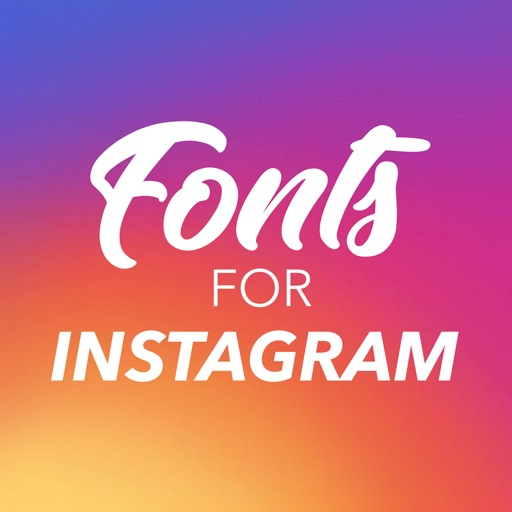 Fonts for Instagram Keyboard iOS App