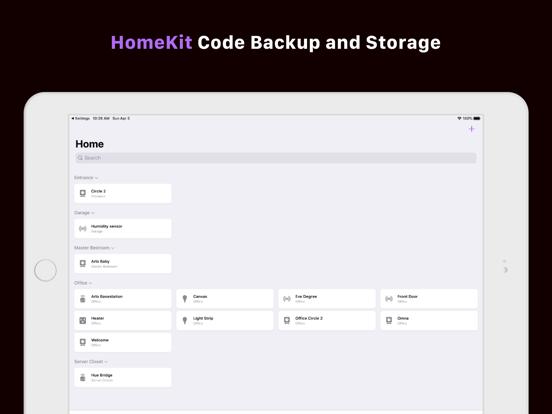 Screenshot #4 pour HomePass for HomeKit