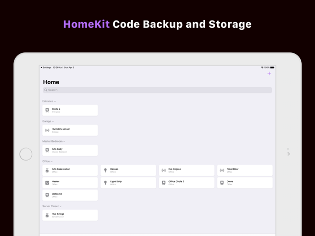 ‎HomePass for HomeKit Screenshot