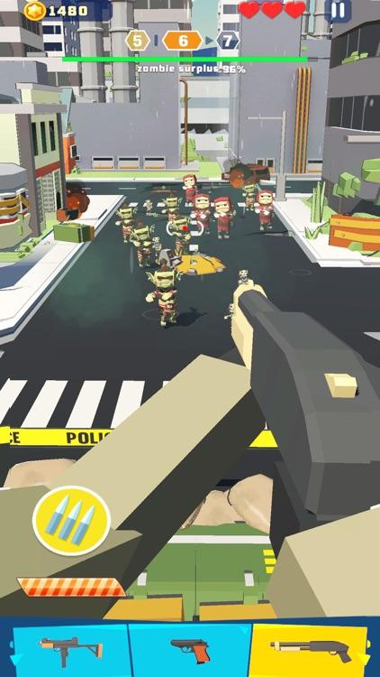 Shooter vs Zombies
