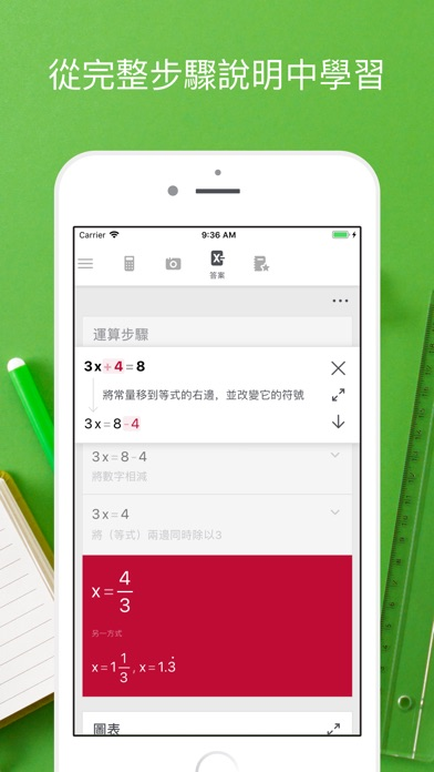 Screenshot for Photomath in Taiwan App Store