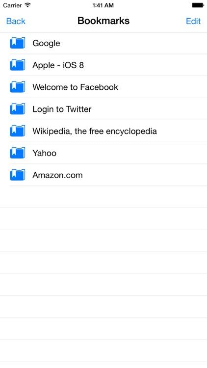 Full Screen Web Browser App screenshot-4