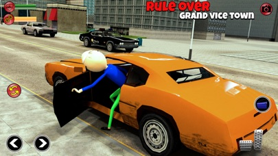 Baldi Stickman Hero Crime City Screenshot on iOS