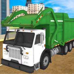 Trash Truck Dumping Simulator