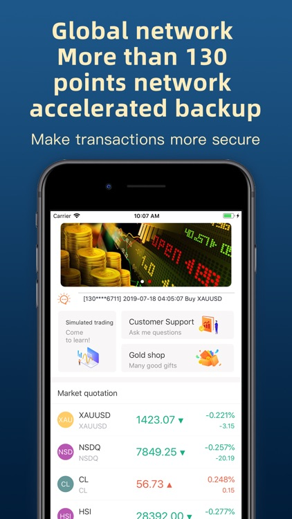 Kirin Trading –Forex ,Gold screenshot-3