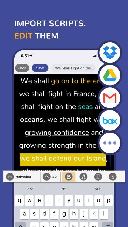 Green Screen Teleprompter screenshot-6