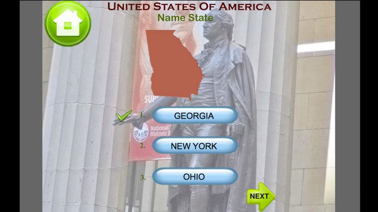United States Map Quiz Game – (iOS تطبيقات) — AppAgg