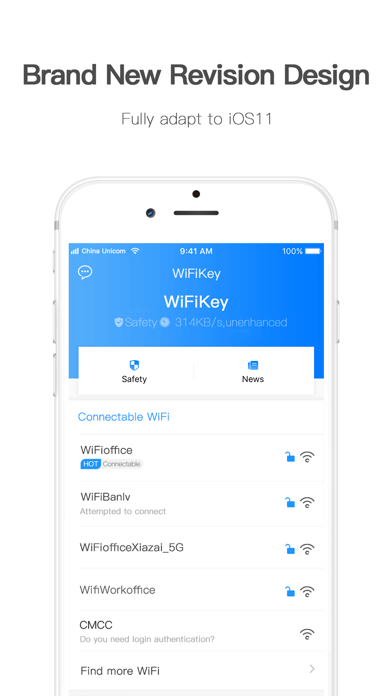 WiFiKey-Connect To Shared WiFi Screenshots