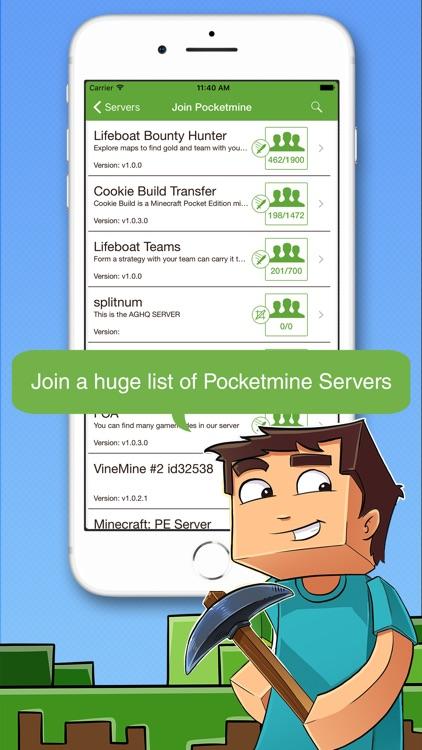 Multiplayer for Minecraft PE screenshot-3