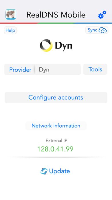 RealDNS - Dynamic DNS screenshot two