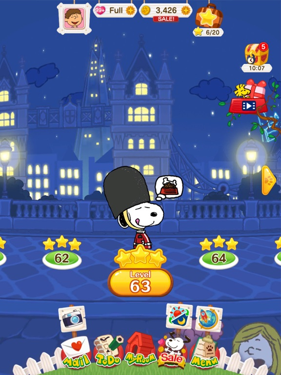 SNOOPY Puzzle Journey screenshot 7