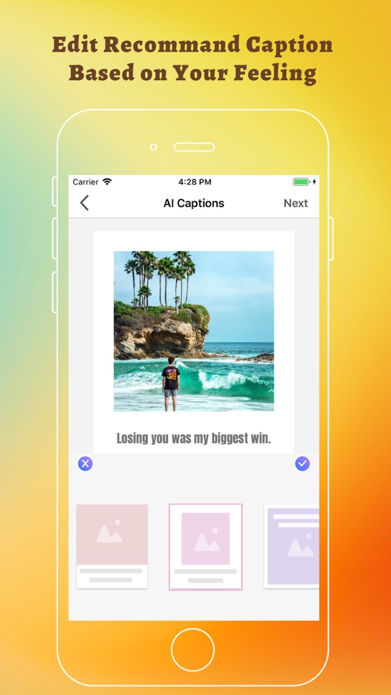 Likes Smart Captions & AI Tags App for iPhone - Free Download Likes
