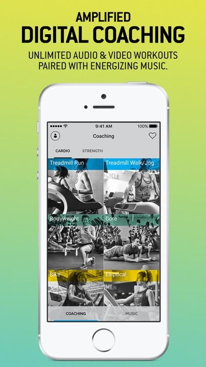 GOLD'S AMP Fitness & Training screenshot-0