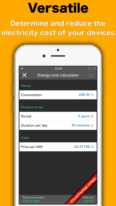messages.download Energy Tracker software
