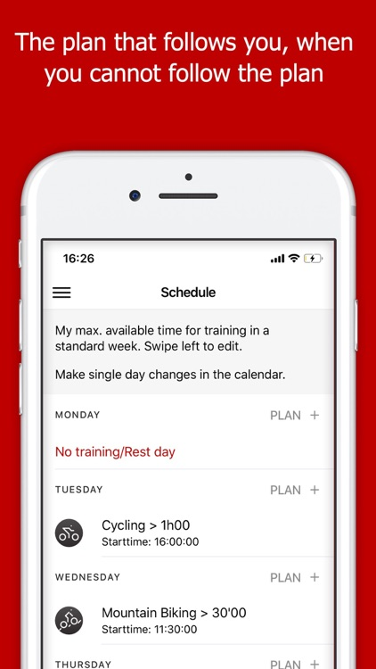 Running training Plans
