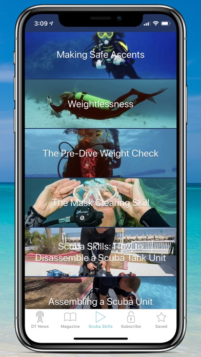 Screenshot for Dive Training Magazine in United Arab Emirates App Store