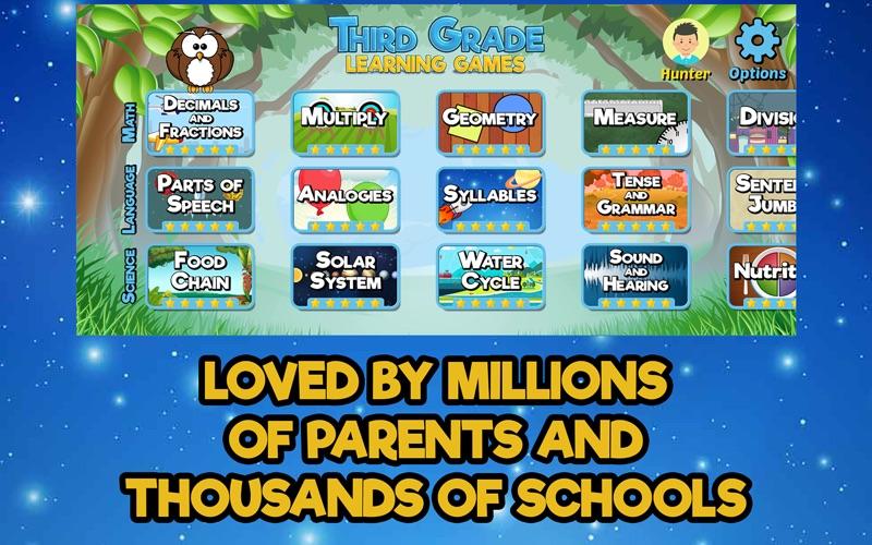 Third Grade Learning Games screenshot 3