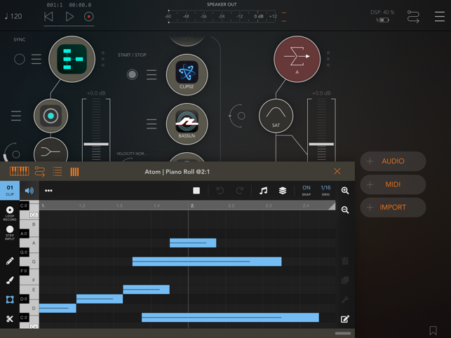 ‎AUM - Audio Mixer Screenshot