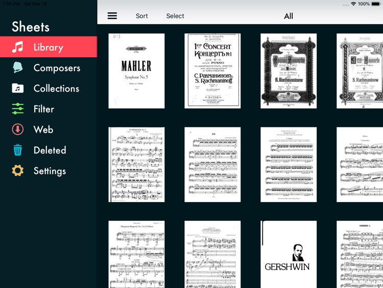Sheets - Sheet Music Viewer screenshot-8