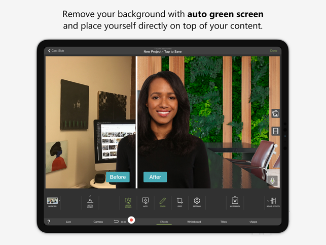 ‎TouchCast Studio Screenshot