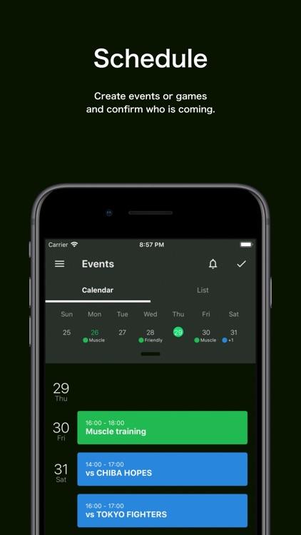 TeamHub - Manage Sports Teams screenshot-4