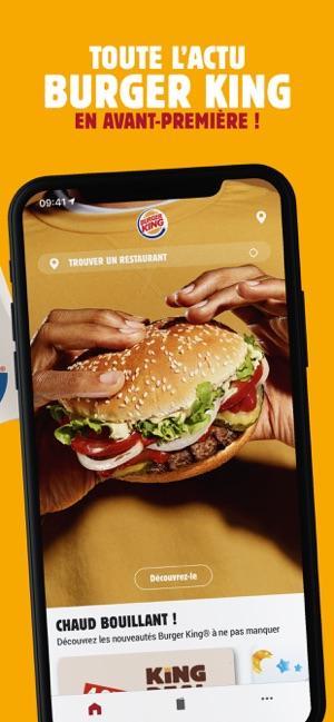 Carte Burger King Vendenheim.Burger King France Dans L App Store