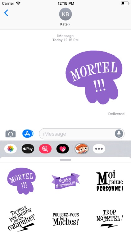 Stickers mortels