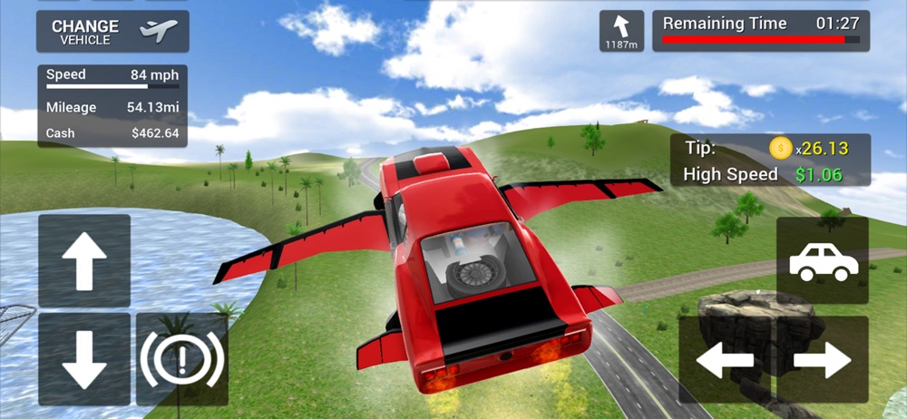 Flying Car Transport Simulator hack tool