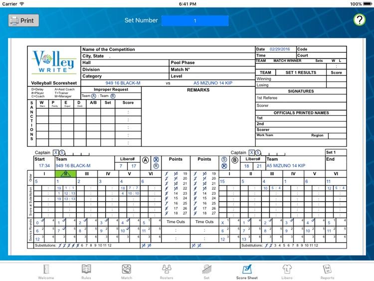 VolleyWrite screenshot-4
