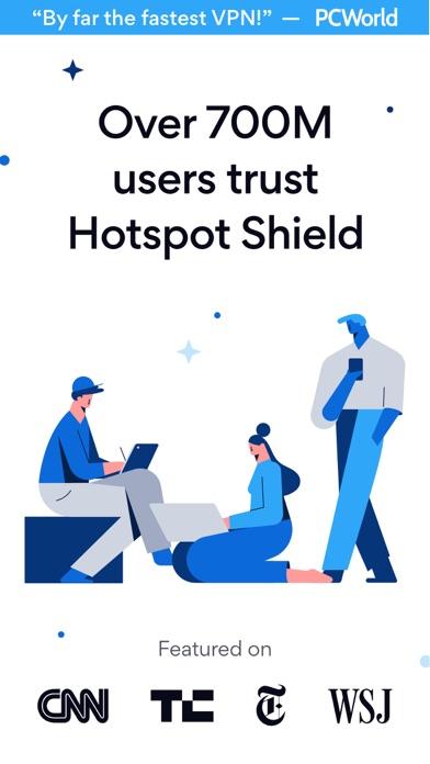 Screenshot for HotspotShield VPN & Wifi Proxy in United States App Store