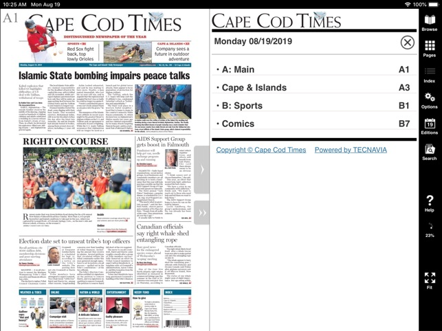 Cape Cod Times e-edition on the App Store