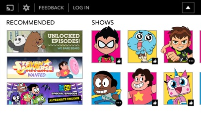 Cartoon Network phone App screenshot 3