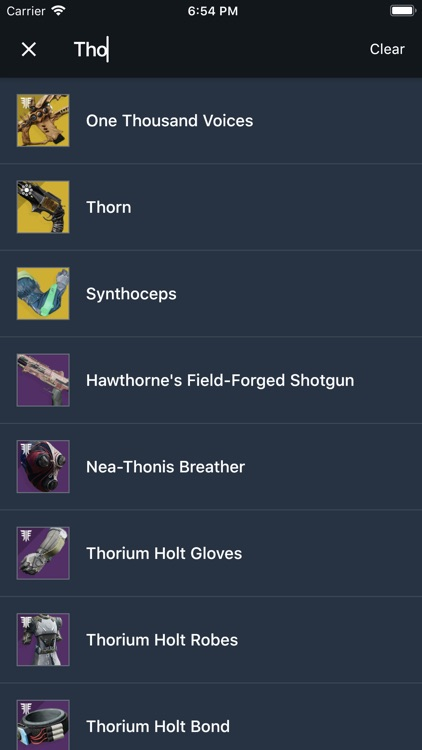 Item Explorer for Destiny 2 screenshot-8