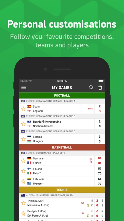 FlashScore - live scores screenshot-4