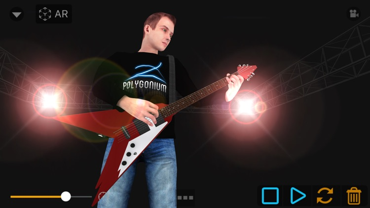 Guitar 3D - AR screenshot-0