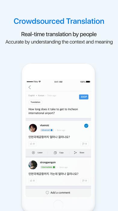 Screenshot #3 pour Flitto - Traduisez et étudiez