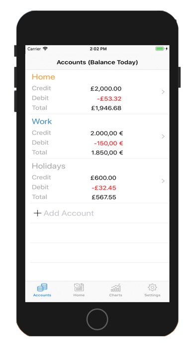 Screenshot for xMoney - Personal Finance in United States App Store
