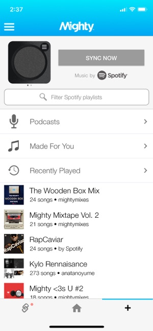Mighty Audio on the App Store