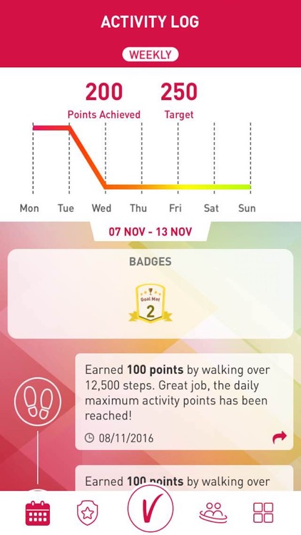 AIA Vitality Weekly Challenge screenshot-4