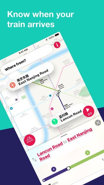 Shanghai Metro Interactive Map screenshot-3