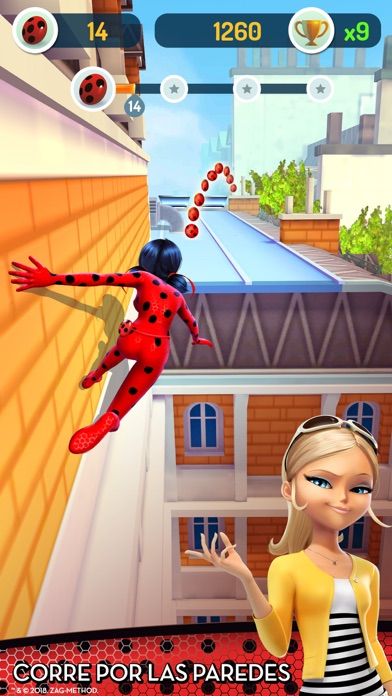 Screenshot for Miraculous Ladybug y Cat Noir in Peru App Store