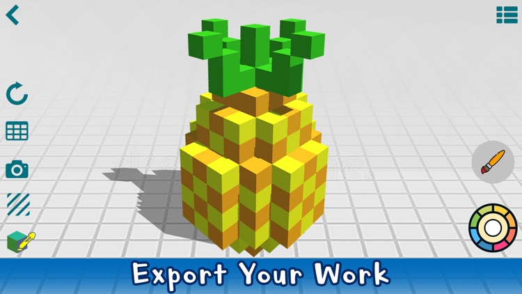 Poxel 3D - Voxel Editor, Maker screenshot-2