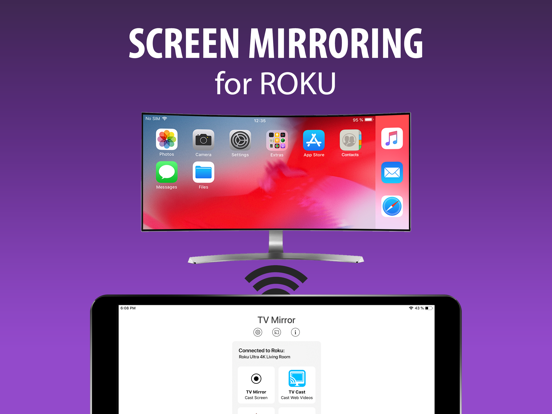 Screen Mirroring for Roku screenshot 3