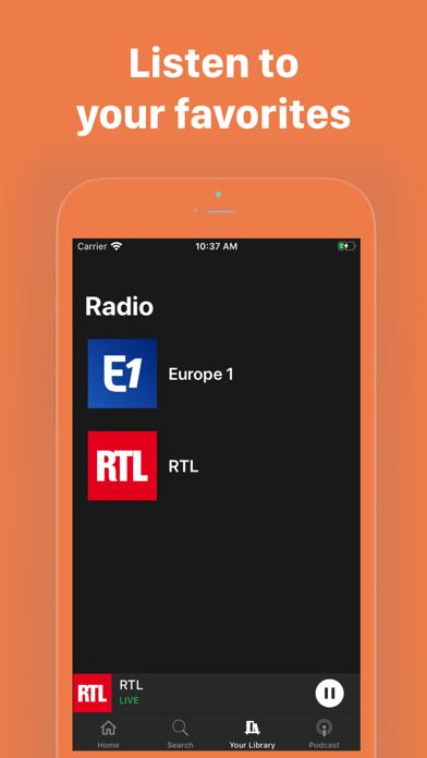 Radiofy screenshot 4