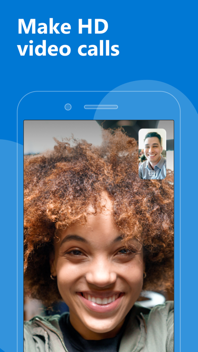 Screenshot for Skype for iPhone in Singapore App Store