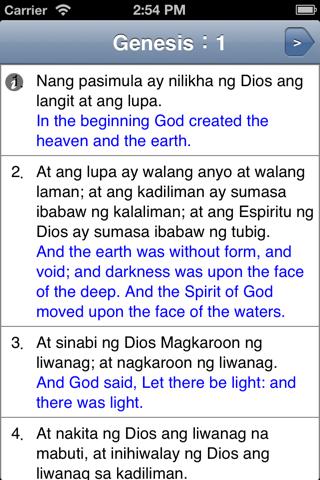 Biblia Pagbabasa - náhled