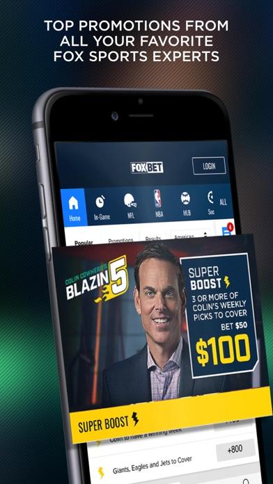 FOX Bet Sportsbook & Casino screenshot 2